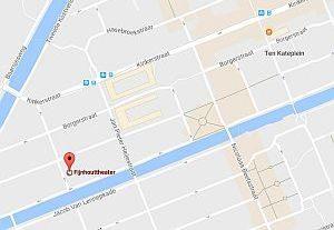 Kaart bereikbaarheid Fijnhout Amsterdam Oud West